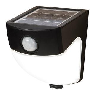 All-Pro MSLED300 120-Deg. Motion-Sensing LED Bronze Outdoor Flood Light