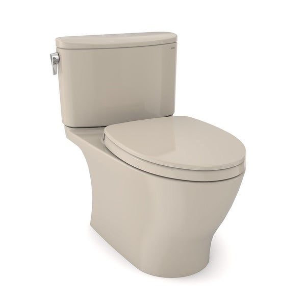 Toto MS642124CEFG Nexus 1.28 GPF One Piece Elongated Chair Height Toilet with Tornado Flush Technology - Seat Included