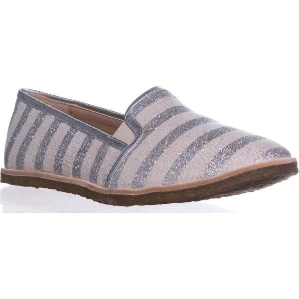 Splendid Beatrix Casual Slip On Flats, Silver - 6.5 us