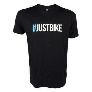 JBI Men's #Justbike Short Sleeve T-Shirt - Black