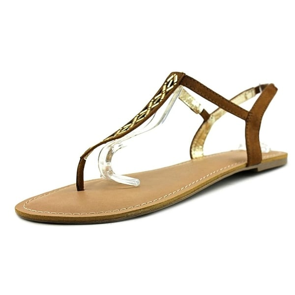 Material Girl Womens mskyler Open Toe Casual Slide Sandals - 9.5