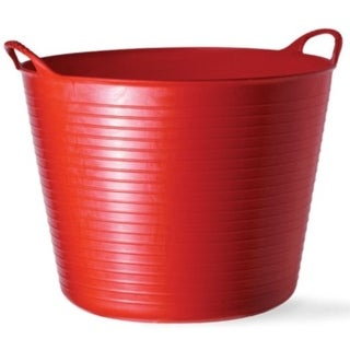 Tubtrugs SP42R Flexible Tub, Large, 38 Liter, Red