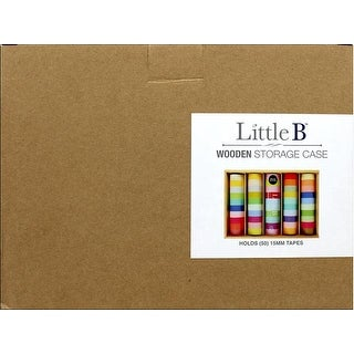 Little B Wooden Storage Case 50pc