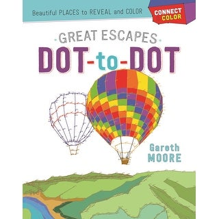 Castle Point Books-Great Escapes Dot-To-Dot