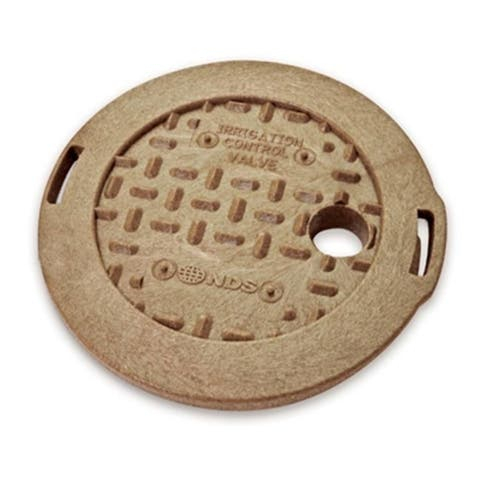 NDS 107C SAND 6 in. Round Overlapping Cover Sand
