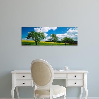 Easy Art Prints Panoramic Images's 'Scenic view of a field, Rinzenberg, Rhineland
