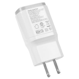 OEM LG Travel Charger for LG G2 1.8A - Universal USB Charger  - White
