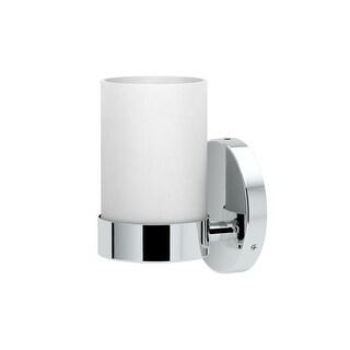 "Gatco 163-SINGLE Glam 7-1/2"" Tall Bathroom Sconce with Shade - n/a"
