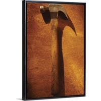 4b7f368606d4 Floating Frame Premium Canvas with Black Frame entitled Hammer - Multi-color