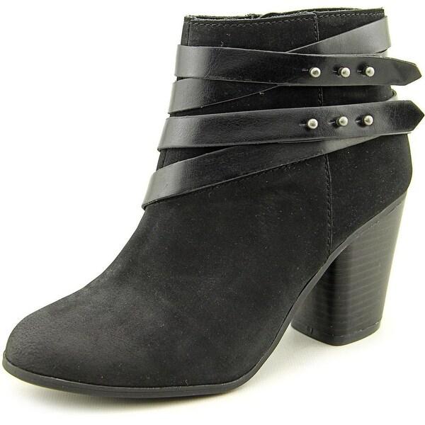 Material Girl Mini Women Black Boots