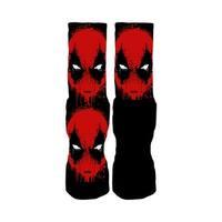 Rufnek Deadpool Bredpool Splatter Socks