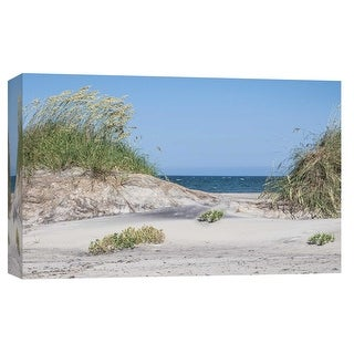 """PTM Images 9-103786  PTM Canvas Collection 8"""" x 10"""" - """"Pea Island"""" Giclee Beaches Art Print on Canvas"""