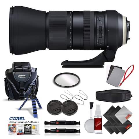 Tamron SP 150-600mm f/5-6.3 Di VC USD G2 for NIKON International Version (No Warranty) Pro Kit - Black