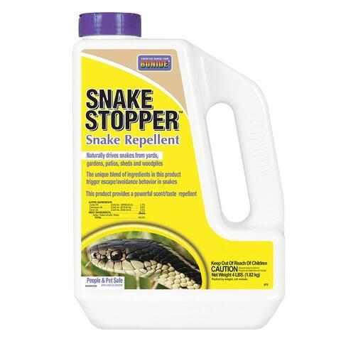 Bonide 875 Snake Stopper Repellent, 4 lbs