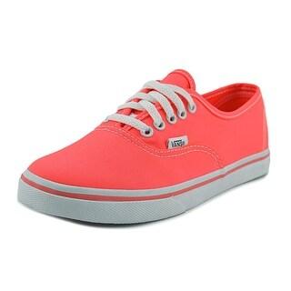 Vans Authentic Lo Pro   Round Toe Canvas  Skate Shoe