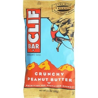 Clif Bar - Peanut Butter Crunch Clif Bar ( 12 - 2.4 OZ)