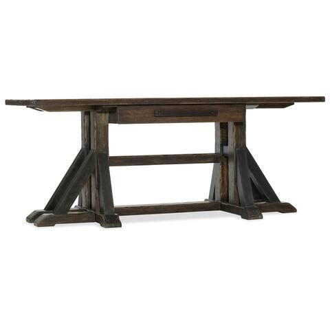 """Hooker Furniture 1618-10459 Roslyn County 74-1/4"""" Wide Walnut Wood - Dark Walnut"""