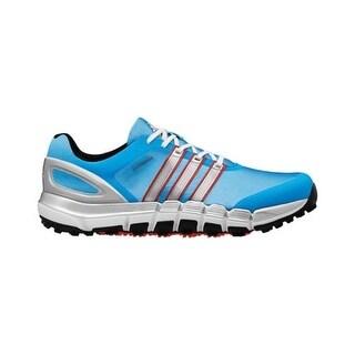 Adidas Pure 360 Gripmore Sport Cyan/Silver Metallic/Red Golf Shoes Q46610
