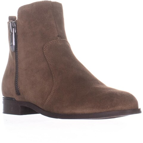 Marc Fisher Rail Ankle Boots, Medium Brown Suede