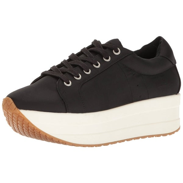 Steven by Steve Madden Womens Bab Fabric Low Top Lace Up Fashion Sneakers