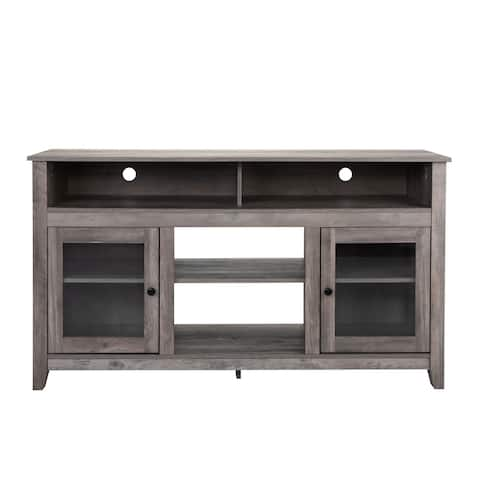 Home Furniture Farmhouse Wooden TV Stand Console