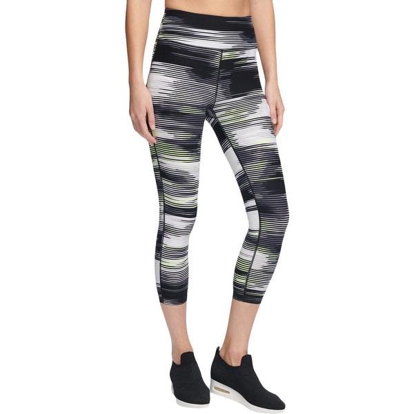 e5318a078f Shop DKNY Womens Athletic Leggings Yoga Fitness - Free Shipping On ...