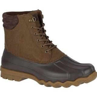 Sperry Top-Sider Men's Avenue Duck Boot Brown Wool