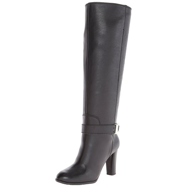 Enzo Angiolini Womens Sumilo Almond Toe Knee High Fashion Boots