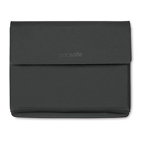 Pacsafe RFIDsafe TEC-RFID Blocking Passport Holder w/ Double Snap Button Closure