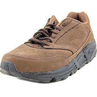 Brooks Addiction Walker B Round Toe Synthetic Walking Shoe