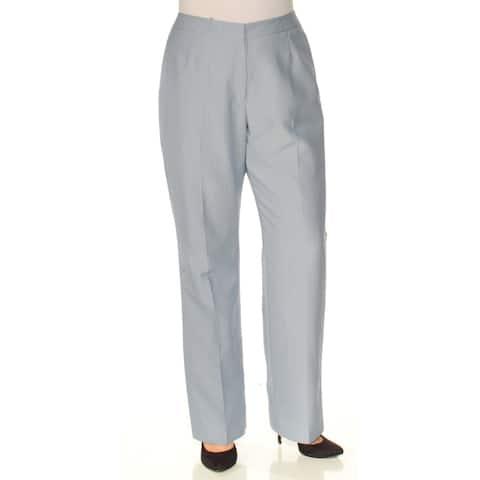 LE SUIT Blue Straight leg Pants Size 12