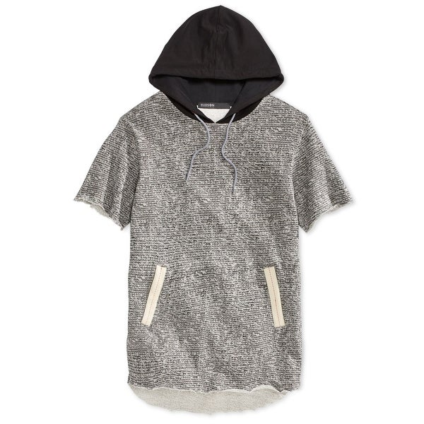 4bb9725966b Shop Hudson NEW Gray Mens Size XL Hooded Short Sleeve French Terry ...