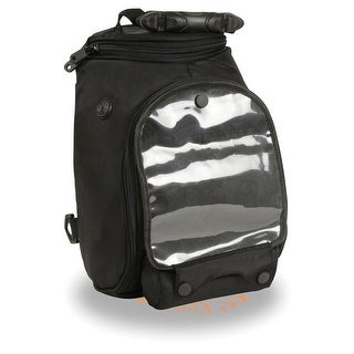 Large Nylon Magnetic Tank Bag w/ Double Access Zippers (9.5X7X13)