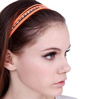 Mad Style Orange Neon Headband
