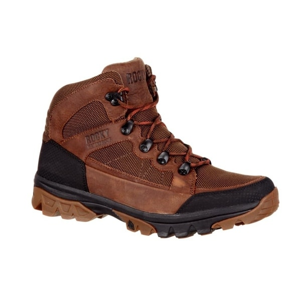 Rocky Outdoor Boots Mens Endeavor Point Waterproof Hiker Brown RKS0312