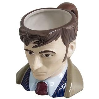 Doctor Who Toby Jug 10th Doctor Ceramic Mug - Multi