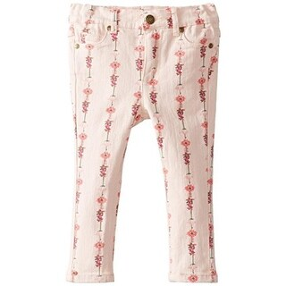Pumpkin Patch Toddler Floral Print Skinny Jeans - 2