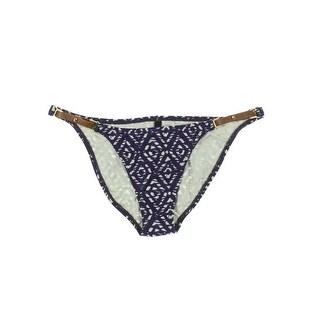 ViX Paula Hermanny Womens Printed Embellished Swim Bottom Separates - XS