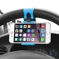 Insten Universal Car Steering Wheel Phone Holder in Assorted Colors - Thumbnail 12
