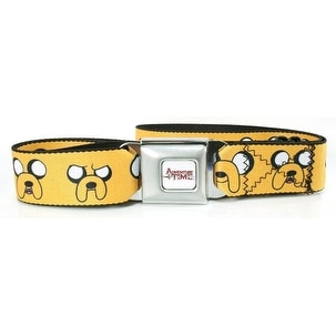 Adventure Time Faces of Jake Seat Belt Buckle Belt-Holds Pants Up