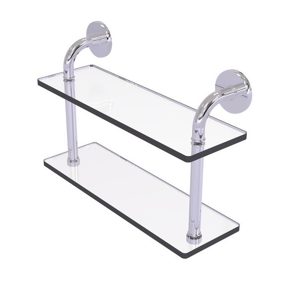 Allied Brass Remi Collection Two Tiered Glass Shelf