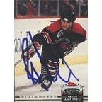Dave Manson Chicago Blackhawks 1991 Upper Deck Autographed Card This item comes with a certificate of authenticity fr