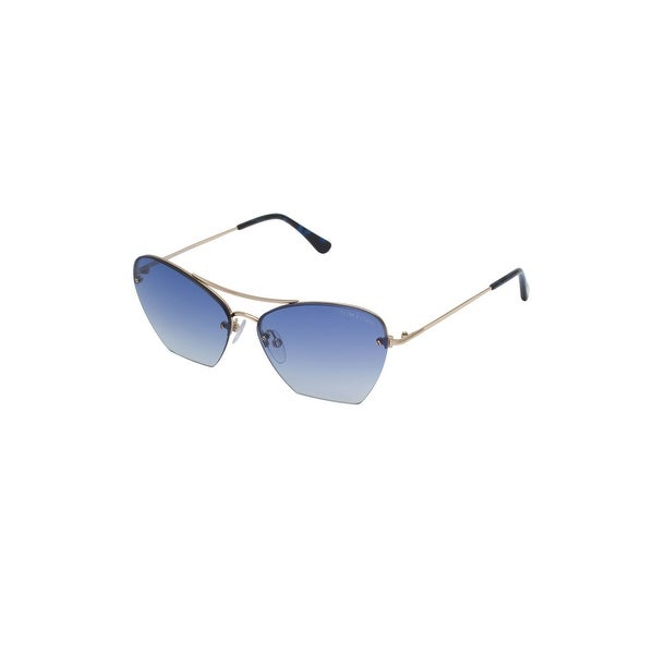a77097f76360 Shop Tom Ford Ladies Sunglasses in Blue Gradient - Free Shipping Today -  Overstock - 23510541
