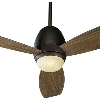Quorum International 42523 Three Blade Single Light Indoor Ceiling Fan from the Bronx Collection