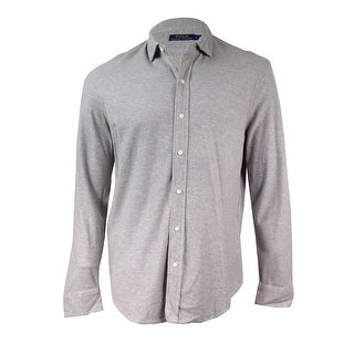 Ralph Lauren Men's Cotton Jacquard Button Down Shirt