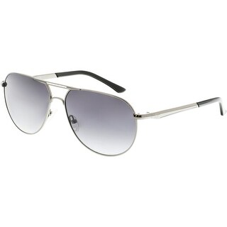 Guess Gradient GF5006-08B-60 Black Aviator Sunglasses
