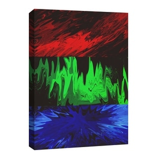 "PTM Images 9-126777  PTM Canvas Collection 8"" x 10"" - ""Vivid Splash"" Giclee Abstract Art Print on Canvas"