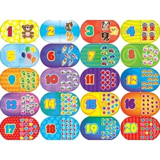Learning Puzzle Games-Numbers 40 Pieces