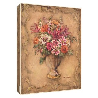 """PTM Images 9-154641  PTM Canvas Collection 10"""" x 8"""" - """"Fragrant Bouquet II"""" Giclee Flowers Art Print on Canvas"""