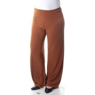 Womens Brown Wear To Work Pants Size XXL